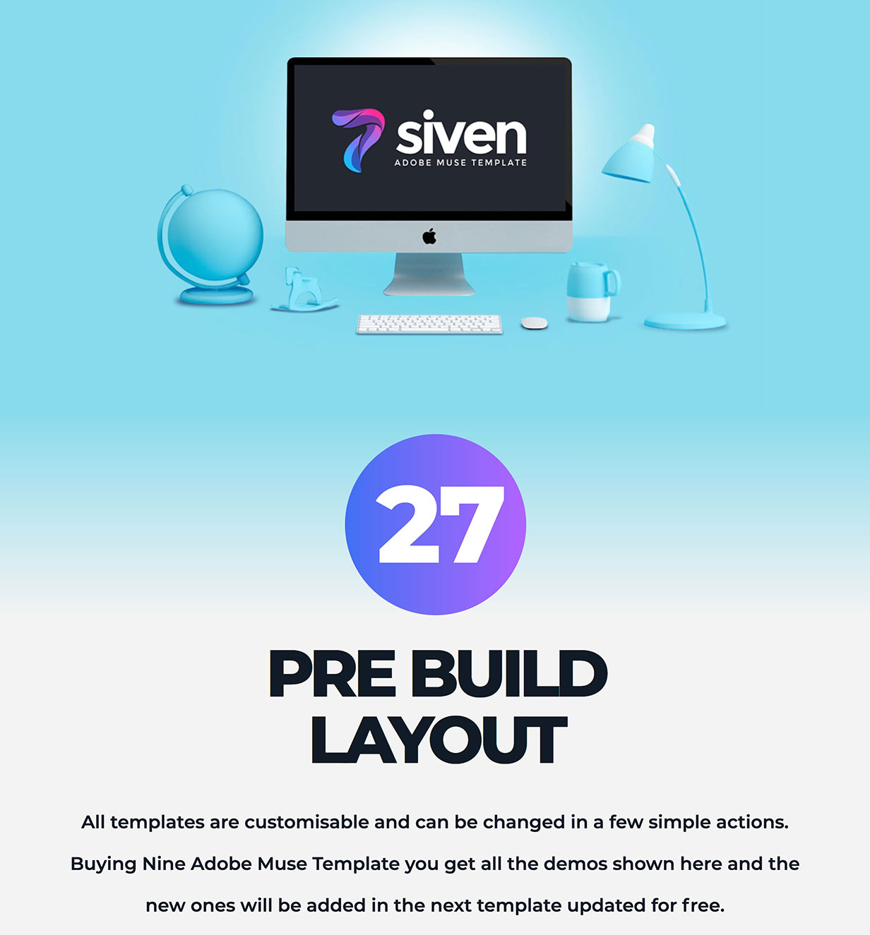 Siven - Adobe Muse Template - 1