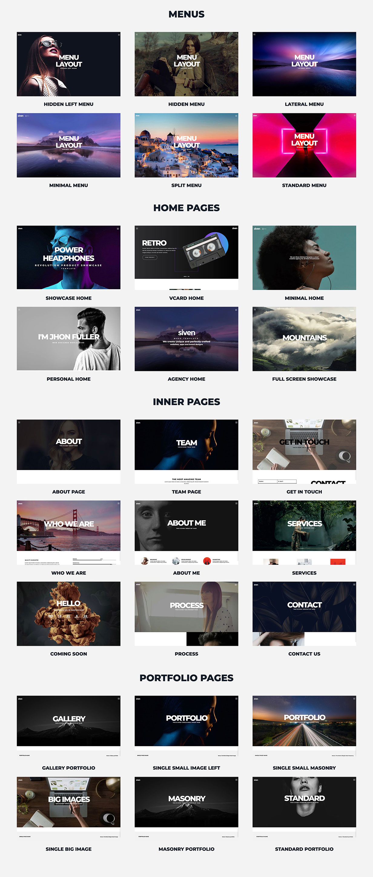 Siven - Adobe Muse Template - 2